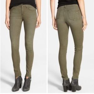 Rag & Bone Distressed Army Skinny Jeans 25